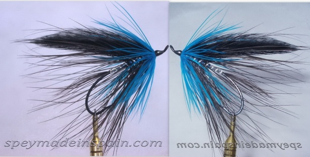 Black & Blue Spey